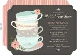 tea party bridal shower invitations bridal shower invitations cloveranddot