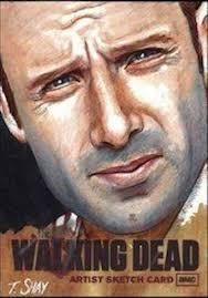 188 best sketch cards twd images on pinterest the walking dead