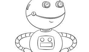 get this letter r coloring pages robot r8591