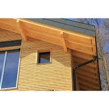 bardage bois claire voie bardage naturel mélèze pour un habillage extérieur bois