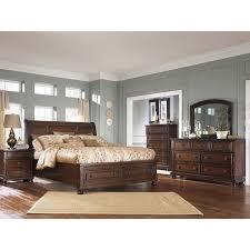 bedroom sets ashley furniture porter 5 piece bedroom set b697 5pcset ashley furniture afw