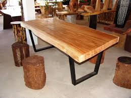rustic wood dining room tables provisionsdining com