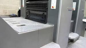 heidelberg sm 74 2 offset printing machine youtube