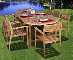 Teak Outdoor Furniture Sale by Dining Tables Lloyd Flanders Smith And Hawken Teak Patio Set