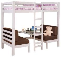 Convertible Bunk Beds Coaster Youth Convertible Loft Bed In White 460273
