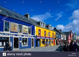 Painted Houses Europe Great Britain Ireland Co Kerry Dingle Peninsula