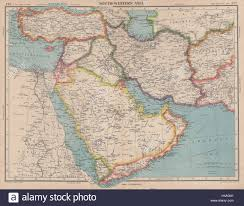 Sw Asia Map by Middle East South West Asia Trucial Oman Uae Dibai Dubai Abu