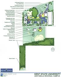 Arizona State University Campus Map by Ashtabula Campus Master Plan Kent State University