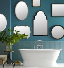 Oval Mirrors For Bathroom by Beaded Oval Mirror Rejuvenation