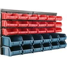 storage good huge organizer bins sturdy plastic full size