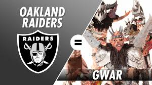 Raiders Halloween Costume Oakland Raiders Gwar
