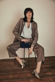 want to wear a suit jacket with joggers or a blazer as a dress