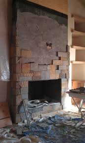 decoration fireplace designs with brick renovation floor to