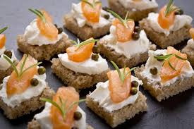 traditional canapes outside canapes evening catering in exeter fresha