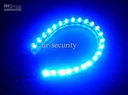 24 led pvc blue led car light dc 12v water proof