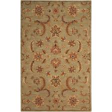 Area Rugs India Nourison India House Light Green 5 Ft X 8 Ft Area Rug 102935