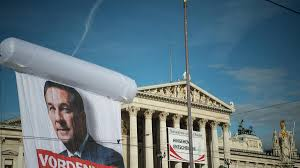 Christian Banner Flags Far Right Party Tipped To Become Kingmaker In Austrian Elections