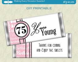 Favors For 75th Birthday by 75th Birthday Etsy