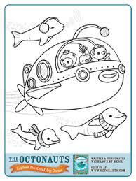 lots octonauts printables coloring book octonauts