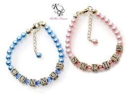 customized baby bracelets the 25 best girl jewelry ideas on flower girl