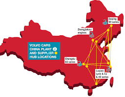 volvo locations volvo cars china a system built for growth automotive logistics
