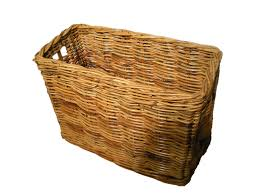 Deep Long Wicker Storage Basket Amazon Co Uk Kitchen U0026 Home