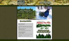 rappenecker designmyers tree farm website rappenecker design