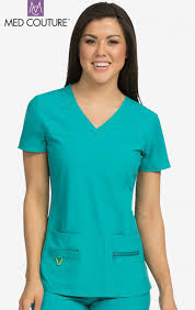 8416 med couture activate refined scrub top cheap scrubs