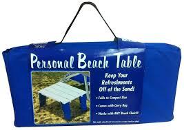 compact folding beach table beach table 14 95