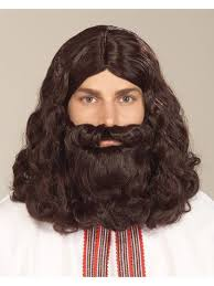 Beard Halloween Costume Biblical Wig Beard Religious Accessories Wholesale