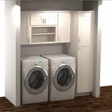 best place to buy cabinets for laundry room hton bay shaker ready to assemble 82x84x24 in laundry kit with assembled wall and pantry cabinets in satin white kkitldy82 ssw the home depot