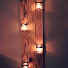 Jar Candle Wall Sconce Shop Mason Jar Home Decor On Wanelo