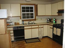 Painting Veneer Kitchen Cabinets Refinish Laminate Cabinets Floor Decoration