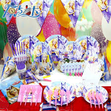 party supply wholesale children s party supplies princess theme package