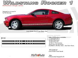 decals for ford mustang mustang wildstang rocker 1 2005 2012 ford mustang rocker panel