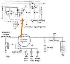 cara mengetahui sistem pengisian charging system sepeda motor