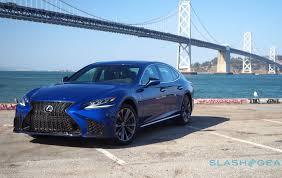 lexus ls 2018 lexus ls 500 drive the luxury of identity slashgear