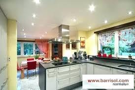 eclairage plafond cuisine eclairage cuisine plafond luminaire pour plafond haut eclairage