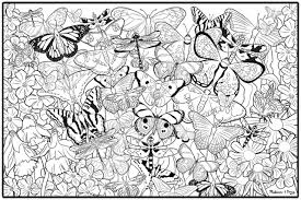 coloring pages trees autumn coloring page for adults