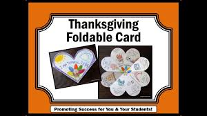 thanksgiving crafts for kids cards to make card making ideas youtube