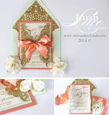 coral wedding invitations mint and coral wedding invitations stephenanuno
