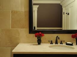 Travertine Bathrooms Alternative Stone Countertops Hgtv