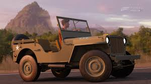 willys jeep ww2 forza horizon 3 cars