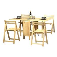 drop leaf table with folding chairs stored inside mesmerizing folding table with chair stored inside novoch me