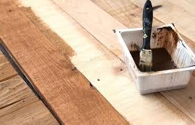 diy stenciled pallet wood floor doormat hometalk