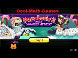 cool math games papa louie 3 when sundae u0027s attack youtube