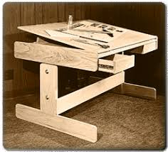 Cad Drafting Table Woodworking Vdo