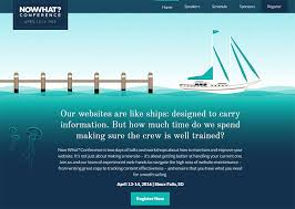 s website conference event websites best design practices to encourage