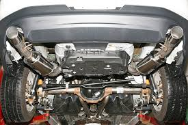 mustang exhaust 2011 mustang v6 mrt interceptor axle back exhaust the mustang