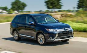 black mitsubishi outlander 2016 2016 mitsubishi outlander 2 4l awd tested u2013 review u2013 car and driver